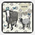 Mum's Love Junebug & Fainting Goat Baby Sticker