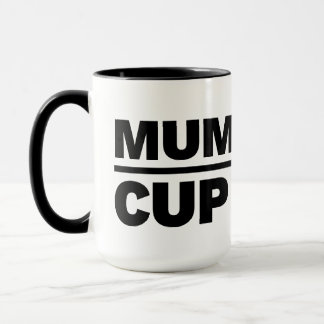 Mums's Cup - Don't Touch mug