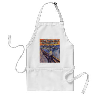 Munch s The Scream Government Help Aprons