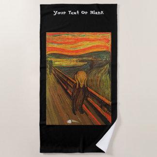 Munch - The Ice Scream Beach Towel
