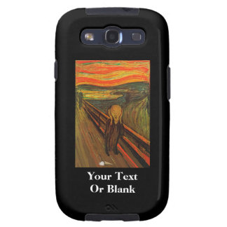Munch - The Ice Scream Samsung Galaxy SIII Cases