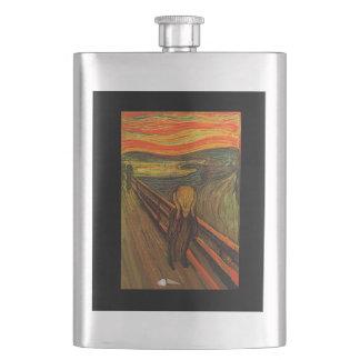 Munch - The Ice Scream Hip Flask