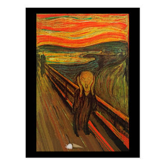 Munch - The Ice Scream Postcard
