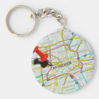 Munchen (Munich), Germany Key Ring