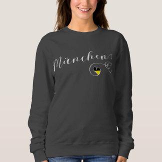 München Munich Heart Sweatshirt, Bavaria Sweatshirt