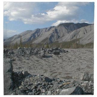 Muncho Lake, Yukon, Canada Napkin