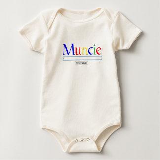 Muncie: I'm Feeling Lucky Men's Baby Bodysuit