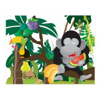 Mungle in the Jungle Postcard