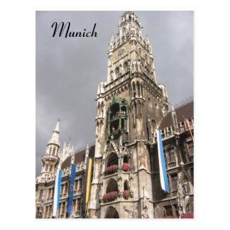 munich cathedral postcard