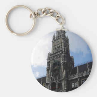 Munich Clock Tower Marienplatz Keychains