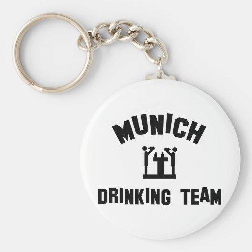 Munich Drinking Team Keychains