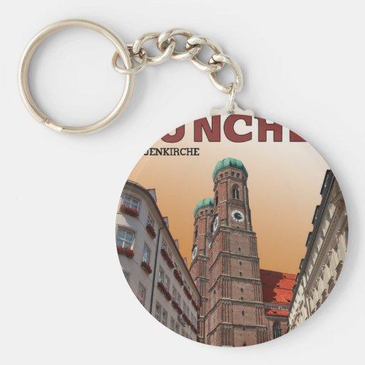 Munich - Frauenkirche Keychains