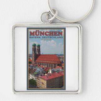 Munich Frauenkirche (Portrait) Key Chain