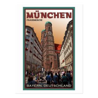 Munich - Frauenkirche Postcard