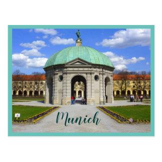 Munich Garden (Hofgarten) Postcard