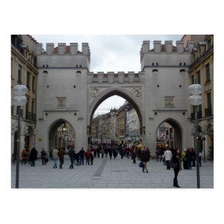 Munich Gate (Karlstor) Postcard