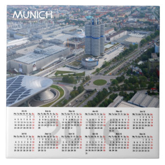 Munich, Germany 2016 Calendar Tile