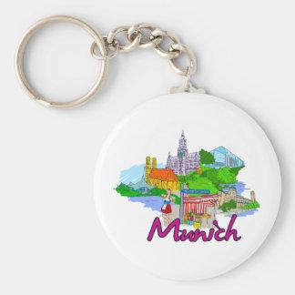 Munich - Germany png Key Chains