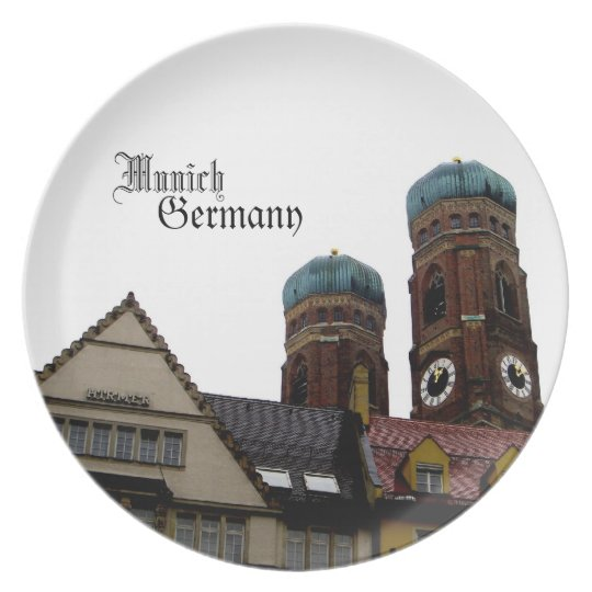 Munich Germany Travel Souvenir Plate