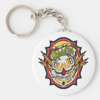 Munich Oktoberfest Edition Basic Round Button Key Ring