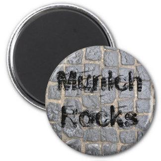 Munich Rocks 6 Cm Round Magnet