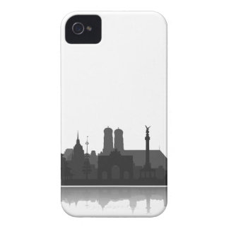 Munich skyline Blackberry sleeve/Case iPhone 4 Case-Mate Cases
