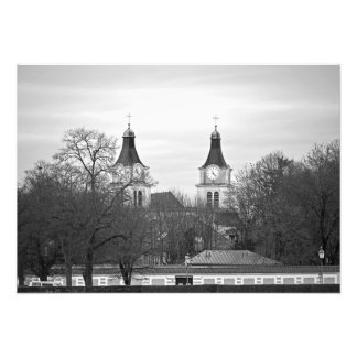 Munich. View of the Nymphenburg Palace Area Photo Print