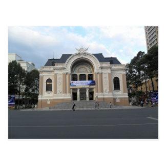 Municipal Theatre in Ho Chi Minh Vietnam Postcard