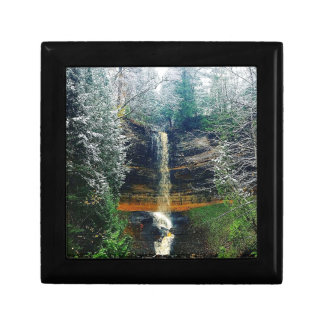 Munising Falls Upper Peninsula Michigan Gift Box
