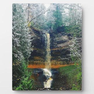Munising Falls Upper Peninsula Michigan Plaque