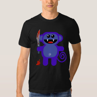 MUNK WITH KNIFE T SHIRT