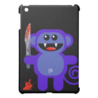 MUNKEY WITH SHARP KNIFE iPad MINI COVERS