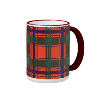 Munro clan Plaid Scottish tartan Ringer Mug