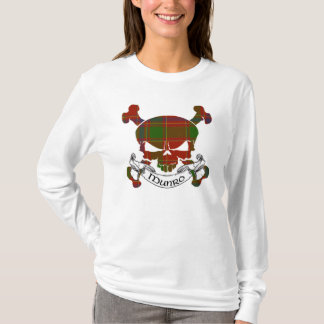 Munro Tartan Skull T-Shirt