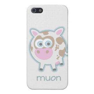 Muon Particle Cow Case For iPhone 5/5S