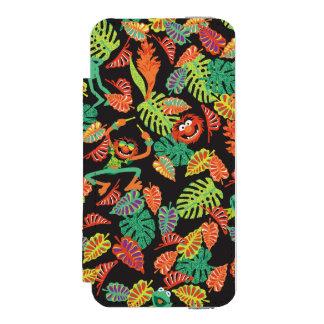 Muppets | Tropical Kermit & Animal Pattern Incipio Watson™ iPhone 5 Wallet Case