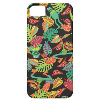 Muppets | Tropical Kermit & Animal Pattern iPhone 5 Cases