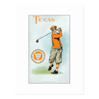 Murad College Series - 1910 - Texas Golfer Post Cards
