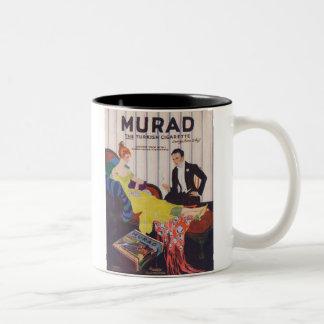 Murad Turkish Cigarettes 2 Two-Tone Mug