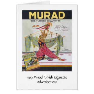 Murad Turkish Cigarettes Card