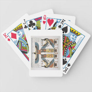 Mural from the Tombs of the Kings at Thebes, disco Bicycle Playing Cards