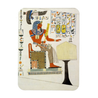 Mural from the Tombs of the Kings of Thebes, disco Magnet