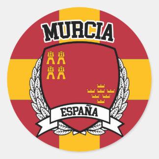 Murcia Classic Round Sticker