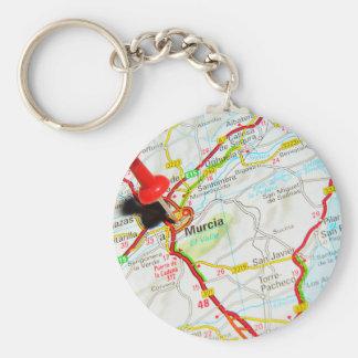 Murcia, Spain Key Ring