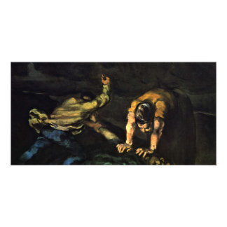 Murder,  By Paul Cézanne (Best Quality) Customised Photo Card