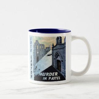 Murder in Pastel mug