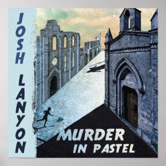 Murder In Pastel Poster