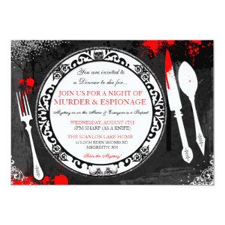 Murder Mystery Dinner Party Invite