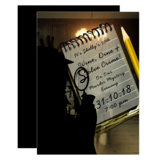 Murder Mystery Invites Crime Scene Investigation 2