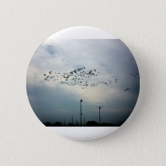 Murder of Crows 6 Cm Round Badge